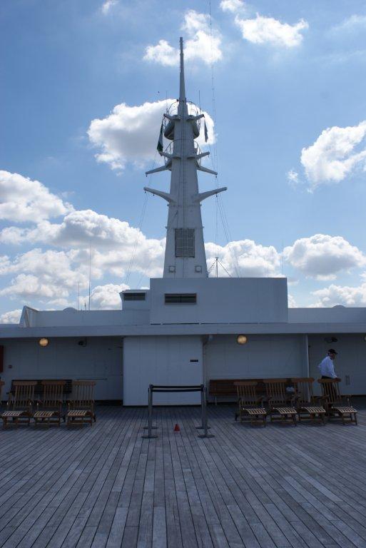 De Rotterdam Front deck view