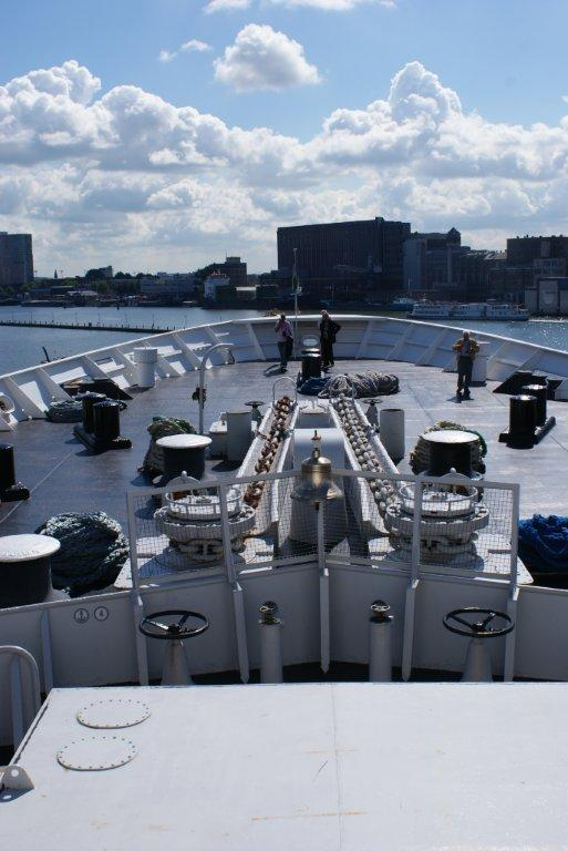 De Rotterdam front deck